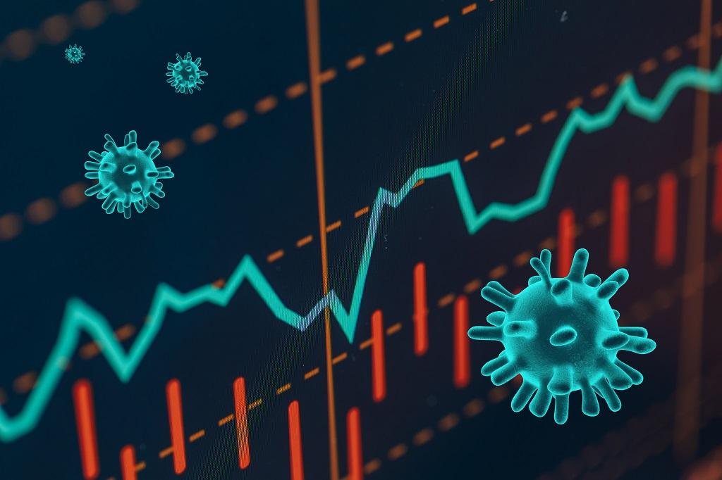 Coronavirus Infecting World Stock Markets